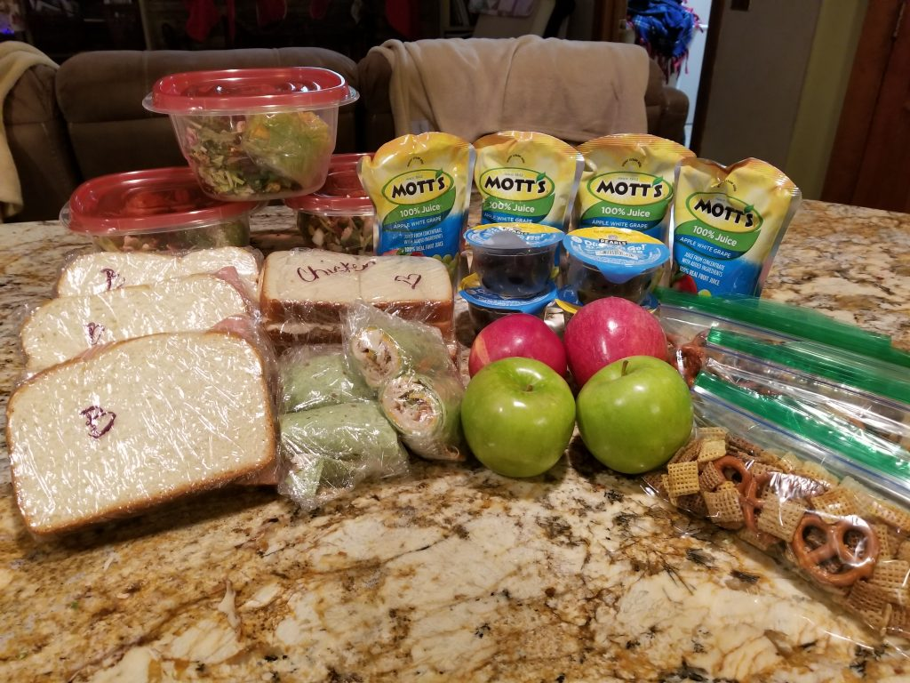 lunch prep meal prep