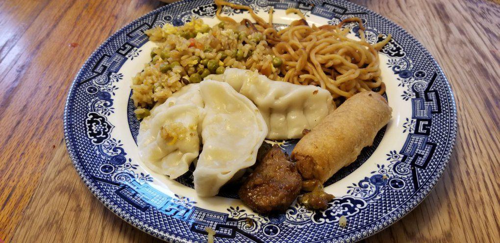 Mulan Theme Night Chinese Food