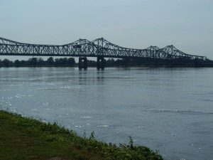 food Natchez Mississippi River Under the Hill Natchez down town slave cemetery