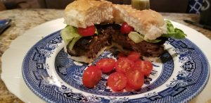cheddar cheese stuffed burger recipe