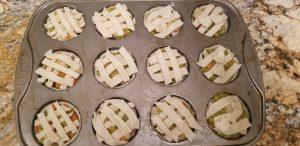 Peter Rabbit, hand pies, chicken pot pie, theme night, peter rabbit food