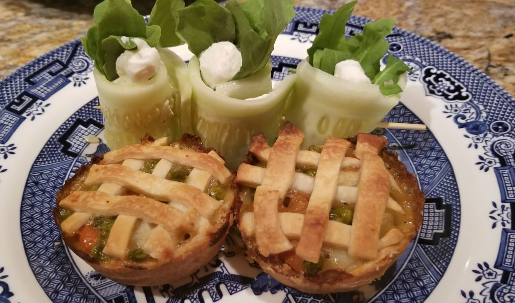Peter Rabbit, hand pies, chicken pot pie, theme night, peter rabbit food