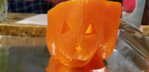 Jack o lantern stuffed peppers halloween dinner ideas