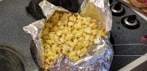 Halloween snacks harvest popcorn recipe