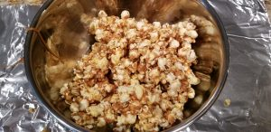 Halloween snacks harvest popcorn recipe