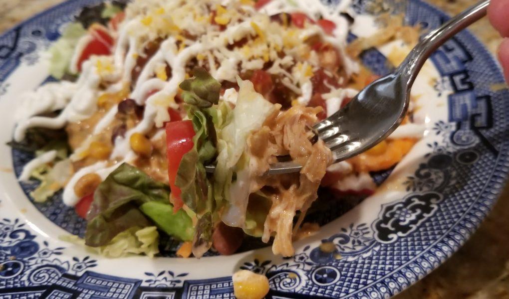 crock pot chicken tacos taco salad recipes