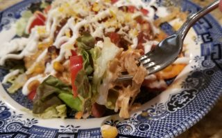 crock pot chicken tacos taco salad recipes