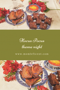 Hocus pocus theme night