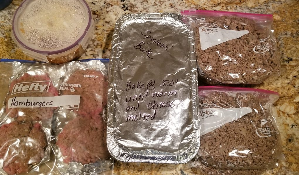 Freezer Cooking with Beef Recipes