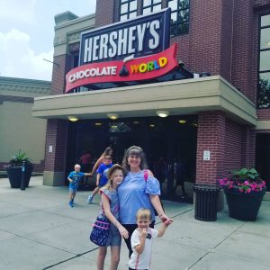 hershey PA with kids